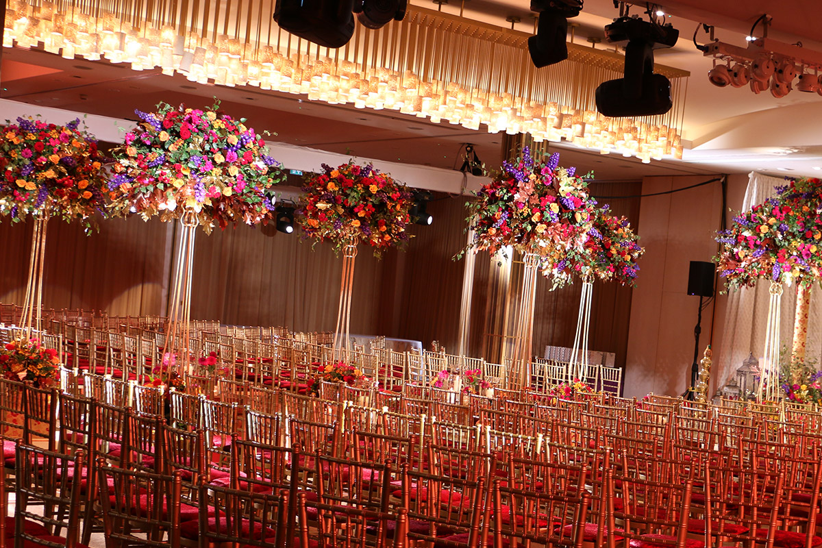 Fresh Flowers, Luxury Florals for a Hindu Wedding