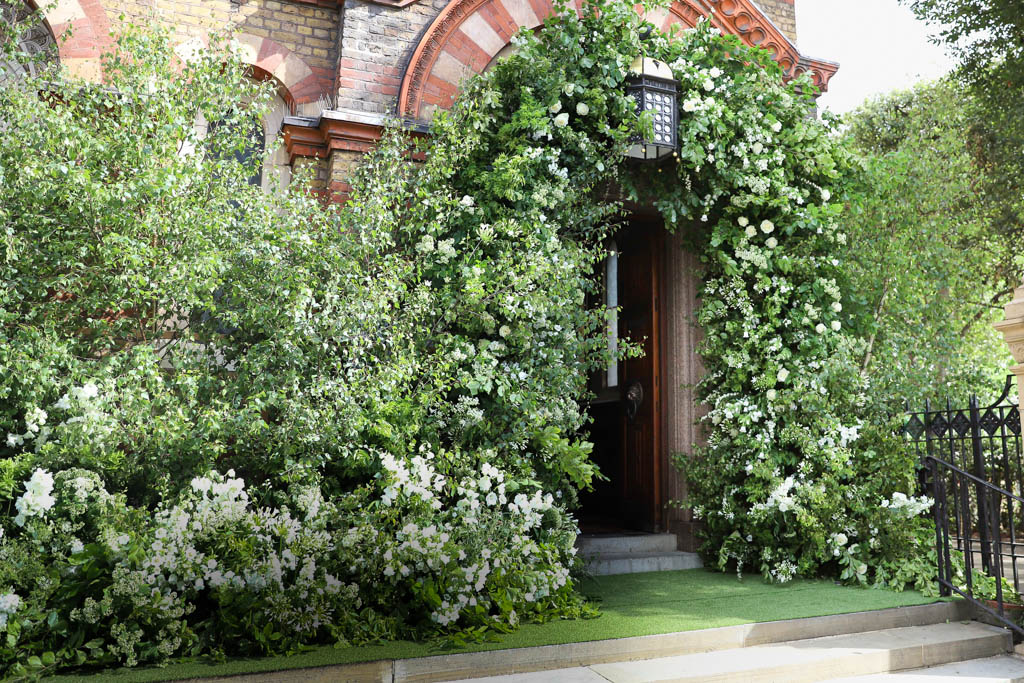 Church Wedding, Floral Arch