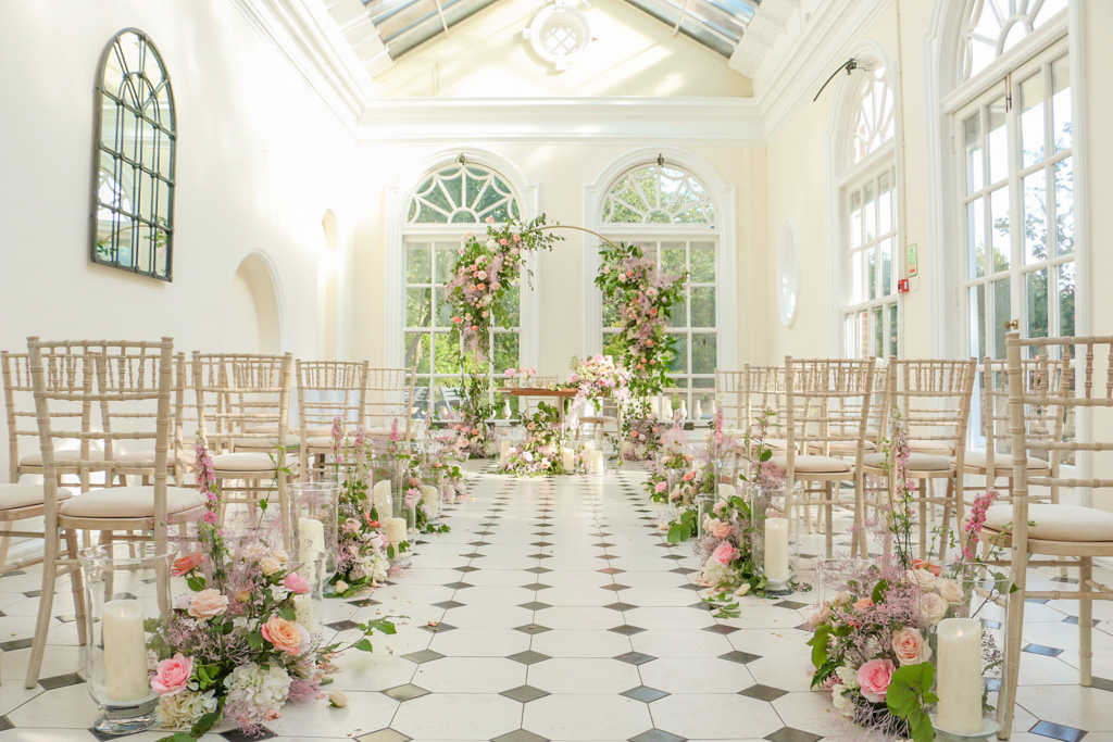 Civil Wedding Arch and Aisle