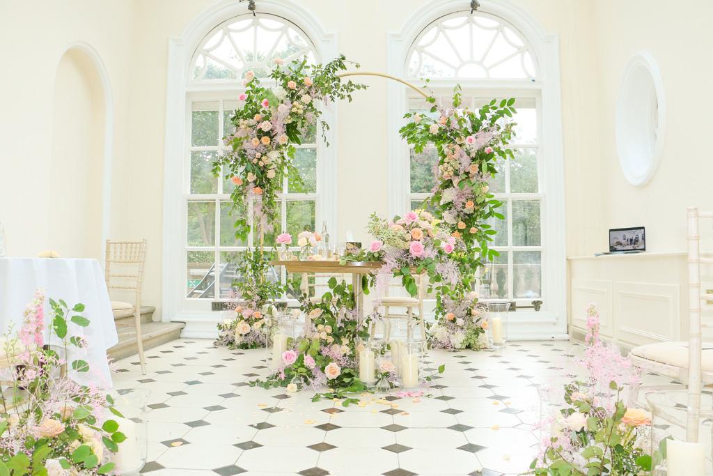 Civil Floral Arch