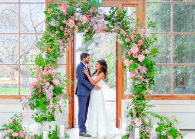 Micro Wedding at the Nash Conservatory Kew Gardens