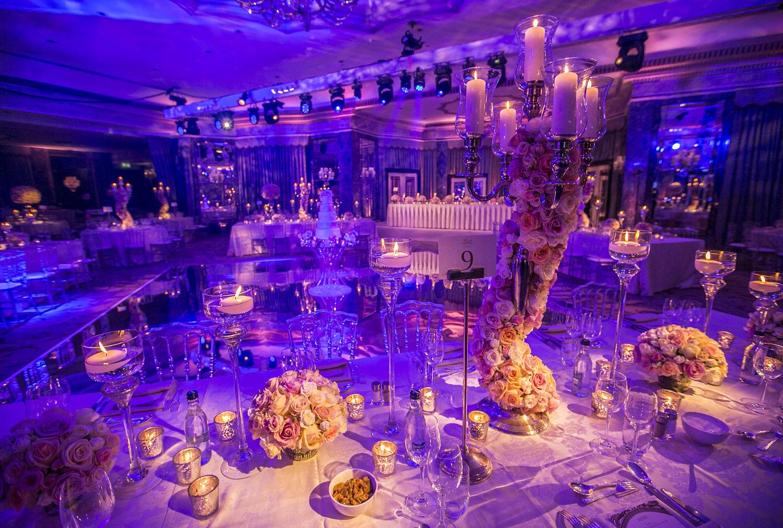 Wedding Reception, The Dorchester, Luxury Flowers