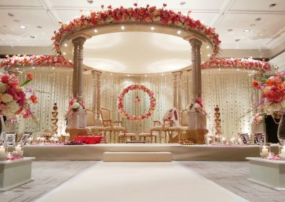 The Meghranee Mandap at Intercontinental Park Lane