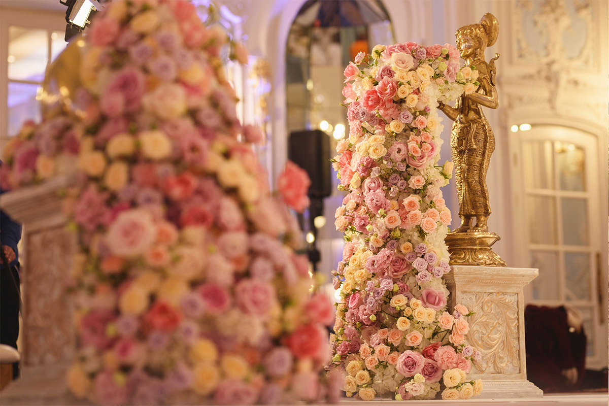 Hindu Wedding Detail. The Savoy London